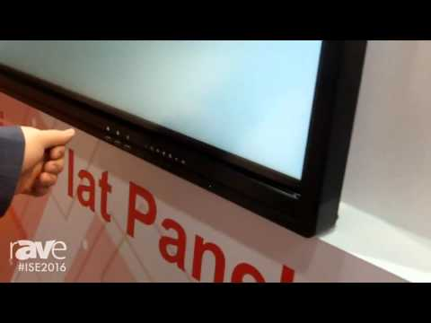ISE 2016: Prima Technology Exhibits Interactive Flat Panels
