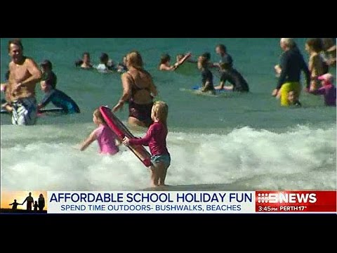 Affordable school holiday fun: RateCity on Nine News Now