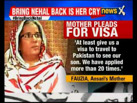 Nehal Hamid Ansari missing for 3 years is in Pakistan custody