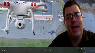 Guy Catches His Wife Cheating With A Drone!! | Caught On Video