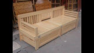 Giường ghế gấp thông minh (Mã: GG01) - Smart Chair combination with bed.