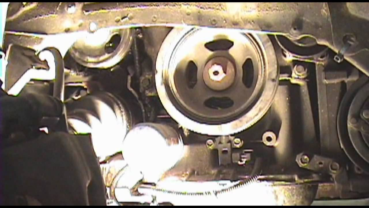 19952008 Nissan Maxima  PS pump belt replacement  YouTube