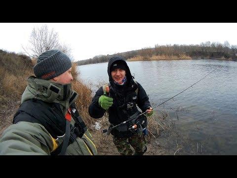 Вот это по настоящему порыбачили...Рыбалка на спиннинг..Весна 2018