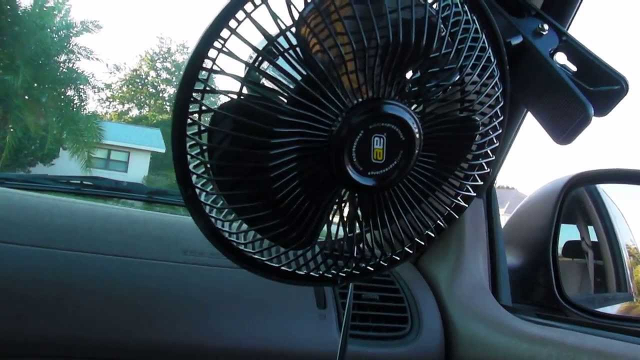 6 Inch 12 Volt Fan : Auto expressions volt clip on inch oscillating fan