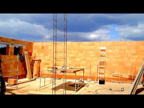 Budowa domu. ściany. Full HD. Film 10 Murowanie porotherm dryfix 2