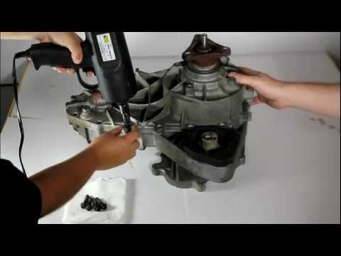 Bmw X5 Nv125 Transfer Case Dismantle Youtube