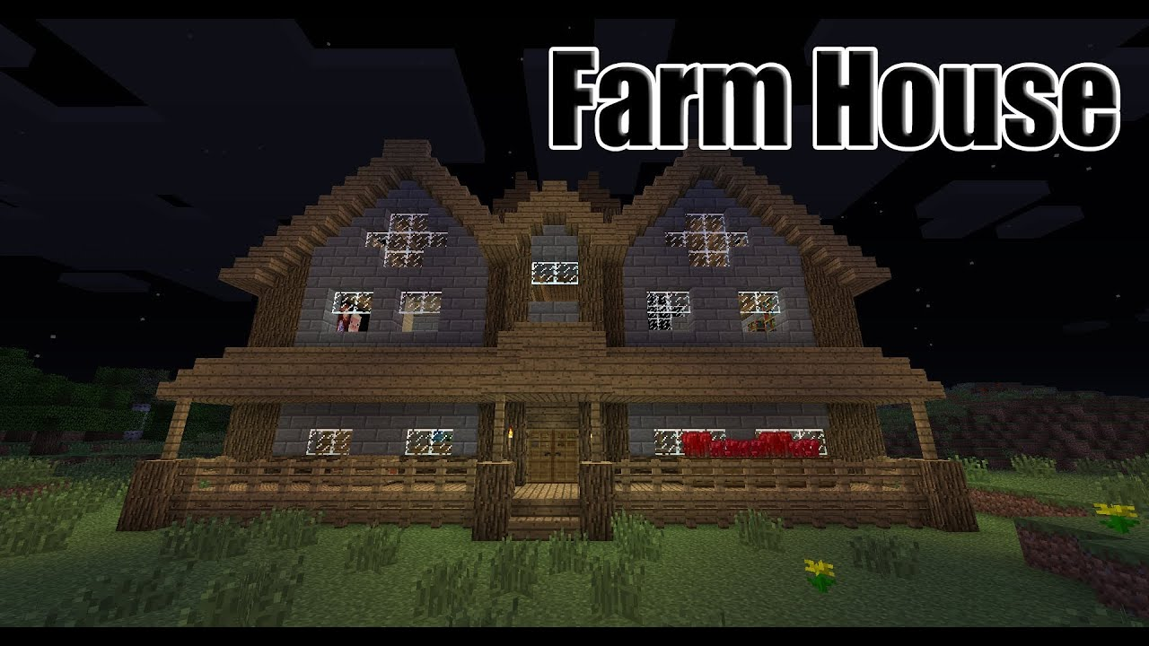 Minecraft Timelapse - Farm House - YouTube