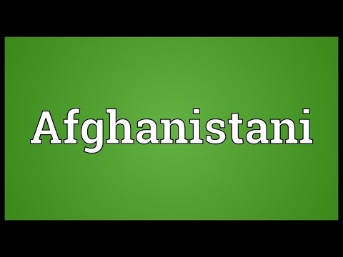 Header of Afghanistani