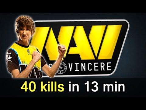 40 kills in 13 min — NaVi vs VP hot CIS Dota 2