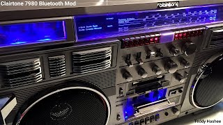 Clairtone 7980 Boombox Bluetooth Mod