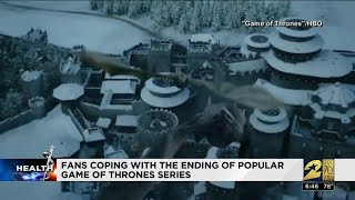 "Fans coping with ""Game of Thrones"" ending"