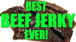 HOW TO MAKE BEEF JERKY - AMAZING BEEF JERKY RECIPE