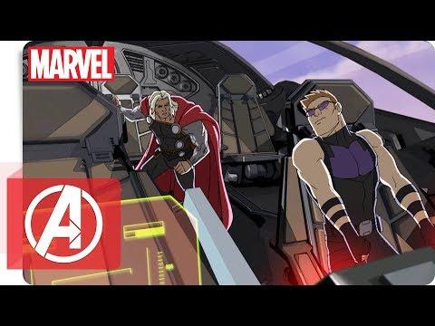 Avengers - Clip: Die Rückkehr der Avengers Teil 1   Marvel HQ Deutschland