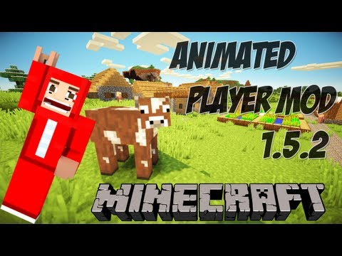 Minecraft 1.5.2 - Pasta .minecraft com Animated Player Mod / Smart Moving + Download