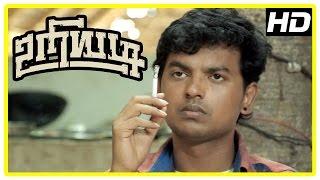 Uriyadi Tamil Movie Scenes | Suruli misbehaves with Henna | Vijay Kumar and friends fight goons