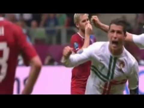 هدف رونالدو ضد التشيك – البرتغال 1-0 التشيك يورو 2012