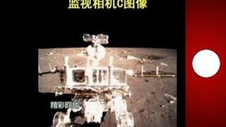 China: imágenes del alunizaje