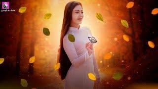 Forest Girl Photo Manipulation Tutorial - Photoshop Photo Manipulation - Photo Effect