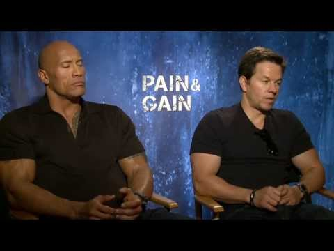 Pain & Gain - Mark Wahlberg & Dwayne Johnson Interview