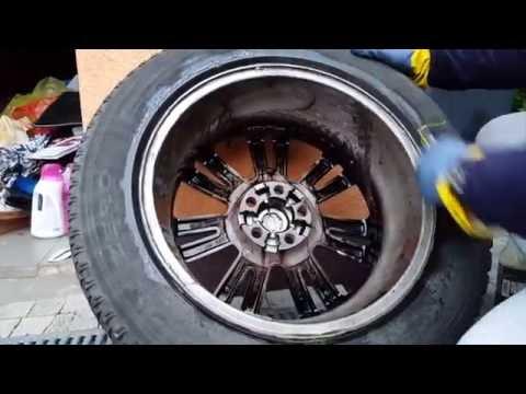 TUGA Devil Alu Teufel Ph Neutral Wheel Cleaner - Wheel Off Test