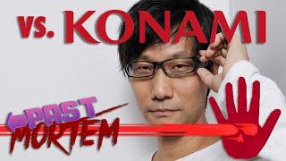Kojima vs Konami Explained | Past Mortem [SSFF]