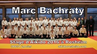 Marc Bachraty 5.Dan Aikido Seminar in Rosheim France 2016 HD