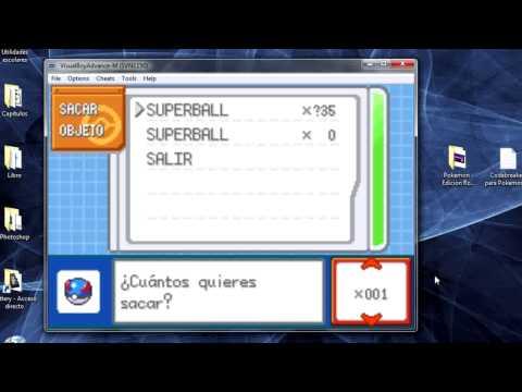 Como poner Codebreaker en Pokémon - Edición Rojo Fuego y Verde Hoja en Español 720p