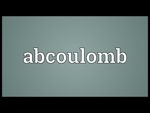Header of abcoulomb