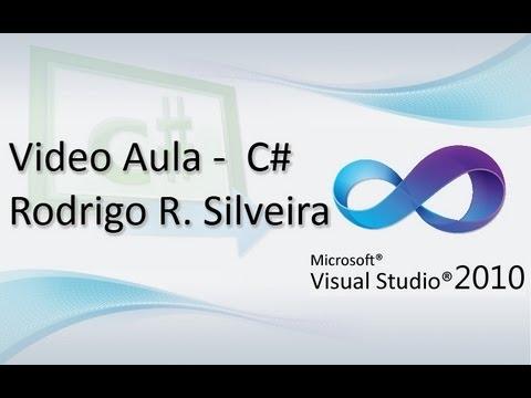Video Aula C# (Visual Studio) - Manipulando arquivos (COPIAR, SALVAR e APAGAR) - (HD)