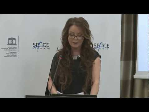 Sarah Brightman LIVE Groundbreaking Announcement from Moscow