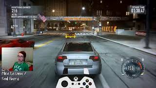 Playing one of the only games I have actually played story over (NFS The Run)