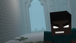 """""""Message"""" 1 HOUR version ♫ Minecraft song  ♫ From Animation series Battle of the Glitches"""