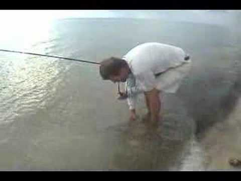 Salt water fly fishing for snook.