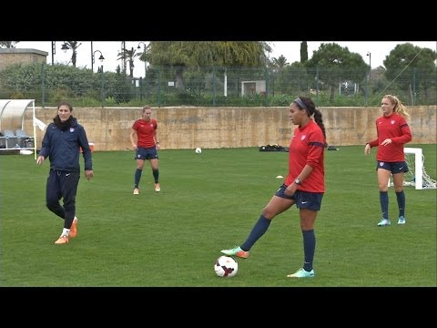 Inside the Lines: WNT Goes 4v4 in Portugal