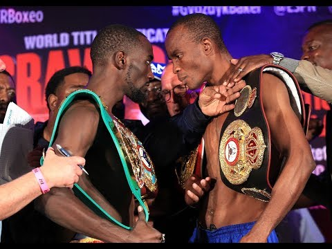 Crawford vs Indongo Weigh In
