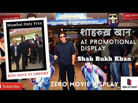 Shah Rukh Khan for ZERO movie promotion at Mumbai airport - Mumbai Duty Free thumbnail
