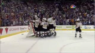 Bruins-Canucks Game 7 Cup Finals Highlights Goucher & Beers call 6/15/11