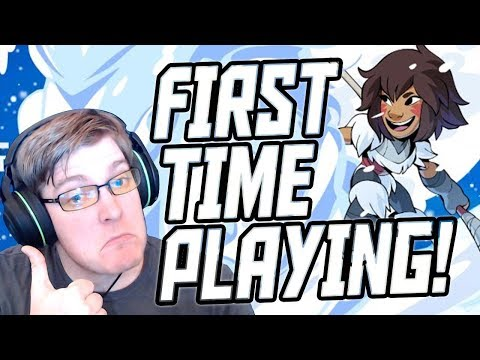 FIRST TIME PLAYING KAYA!! - Brawlhalla