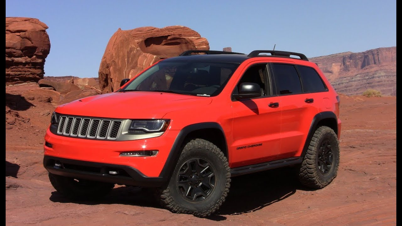 Jeep Grand Cherokee Trailhawk Ii Concept Revealed Youtube