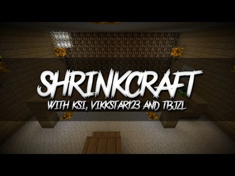 Minecraft | ShrinkCraft | E004 (with KSI, Vikkstar123 & TBJZL)