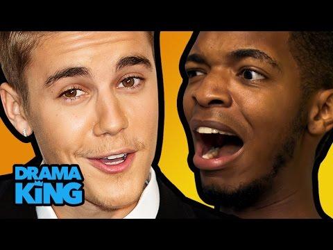 Justin Bieber Kidnapped My Friend! Ft. Ijustine & Erin Robinson – Drama King Ep. 4 video