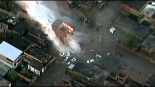 Raw:  Deadly Water Main Explosion in Brazil  7/31/13