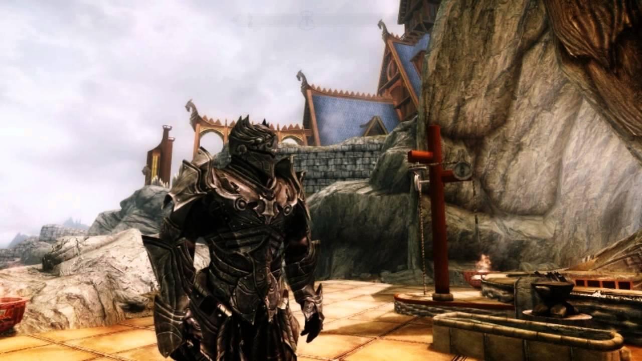 Blade Armor Skyrim Skyrim Black Knight Armor Set
