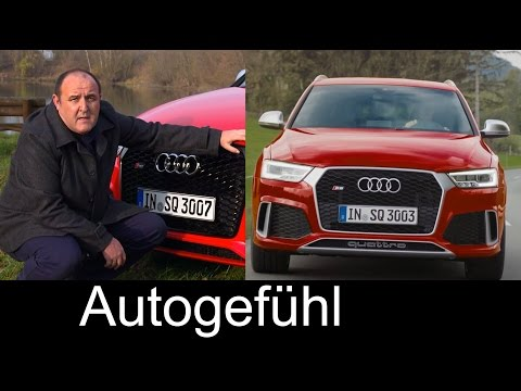 2015/2016 Audi RS Q3 & Audi Q3 Facelift test drive REVIEW - Autogefühl