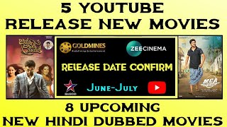 8 Upcoming New Hindi Dubbed Movies | June-July | Confirm Release Date | Khoonkhar Hindi Dubbed Movie