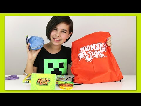Animal Jam Surprise Blind BAG Package Opening Plushie and More