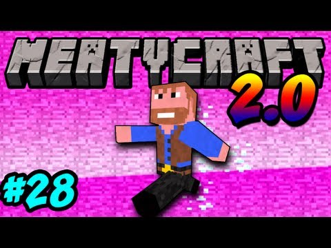 Meatycraft - 2.0 Let's talk Texture pack Ep.28