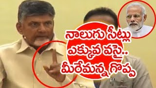 AP CM Chandrababu Warning To PM Modi