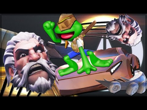 EXTREME OASIS JACKASS GAMES - Overwatch Custom Game Mode Shenanigans!