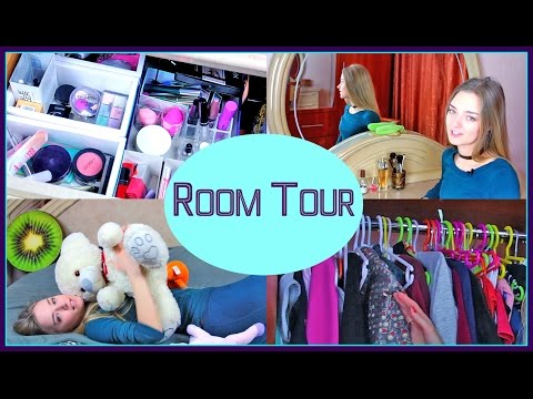 ROOM TOUR 2017 Моя Комната Вся Моя Косметика NataLime